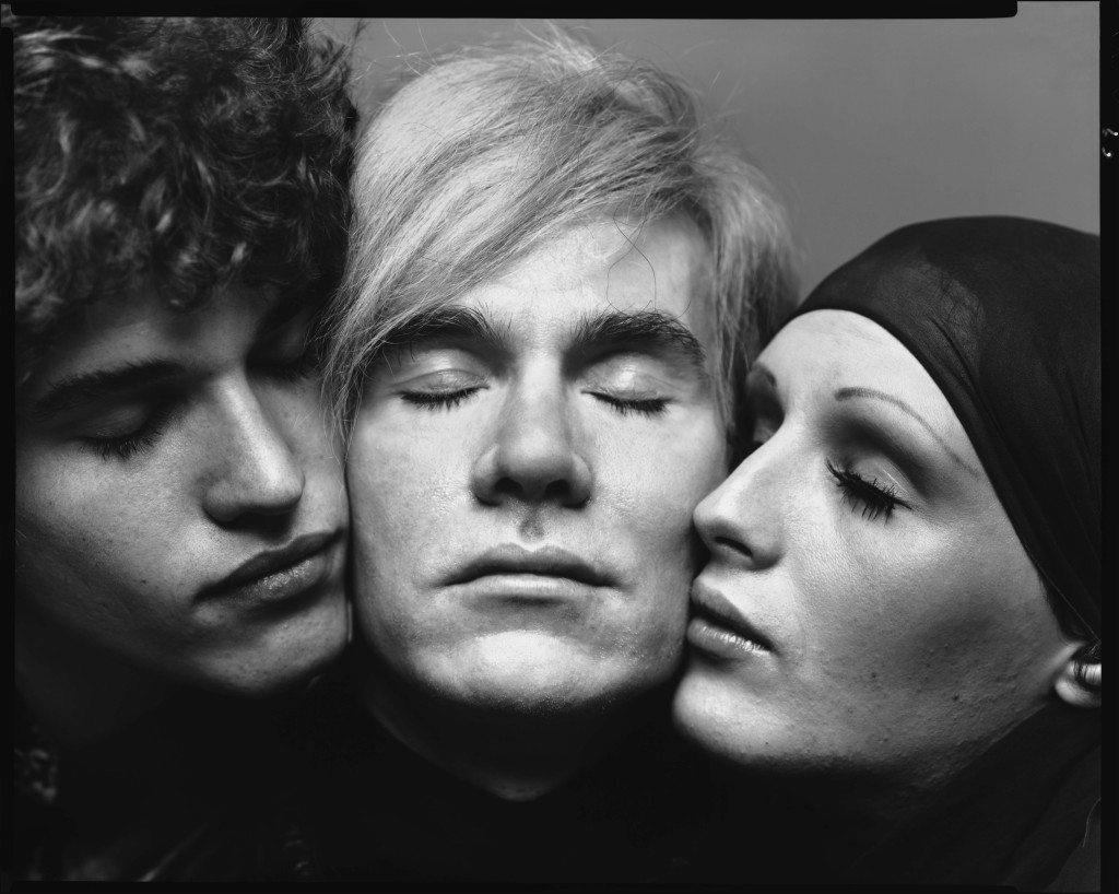 Andy Warhol artist with Jay Johnson and Candy Darling actors New York August 20 1969 (3)