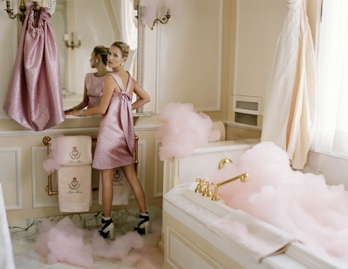 Kate Moss model  Photographer Tim Walker for Vogue