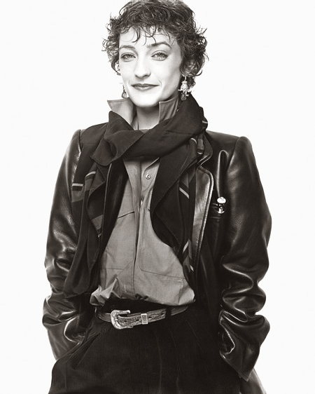 1977- In Paris, photographed by Richard Avedon