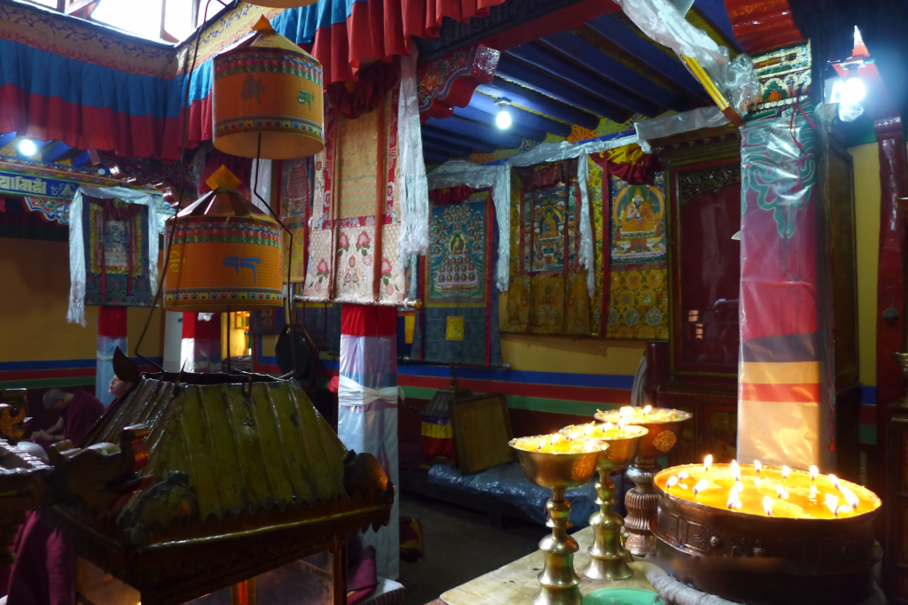 Interior of the Ani Tsangkung Nunnery