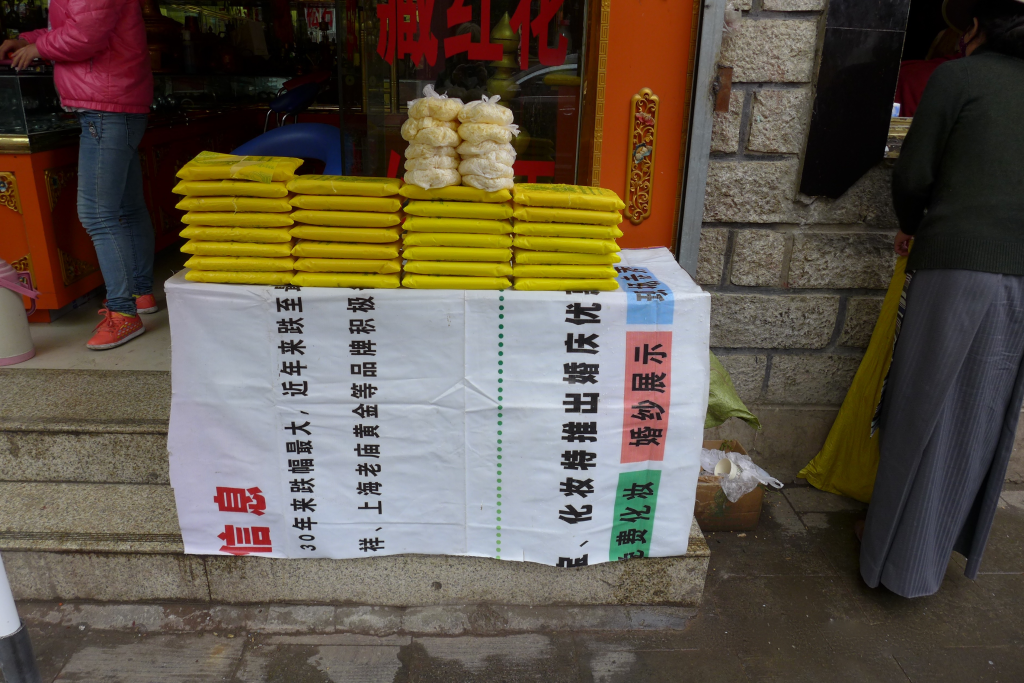 Yak Butter stall