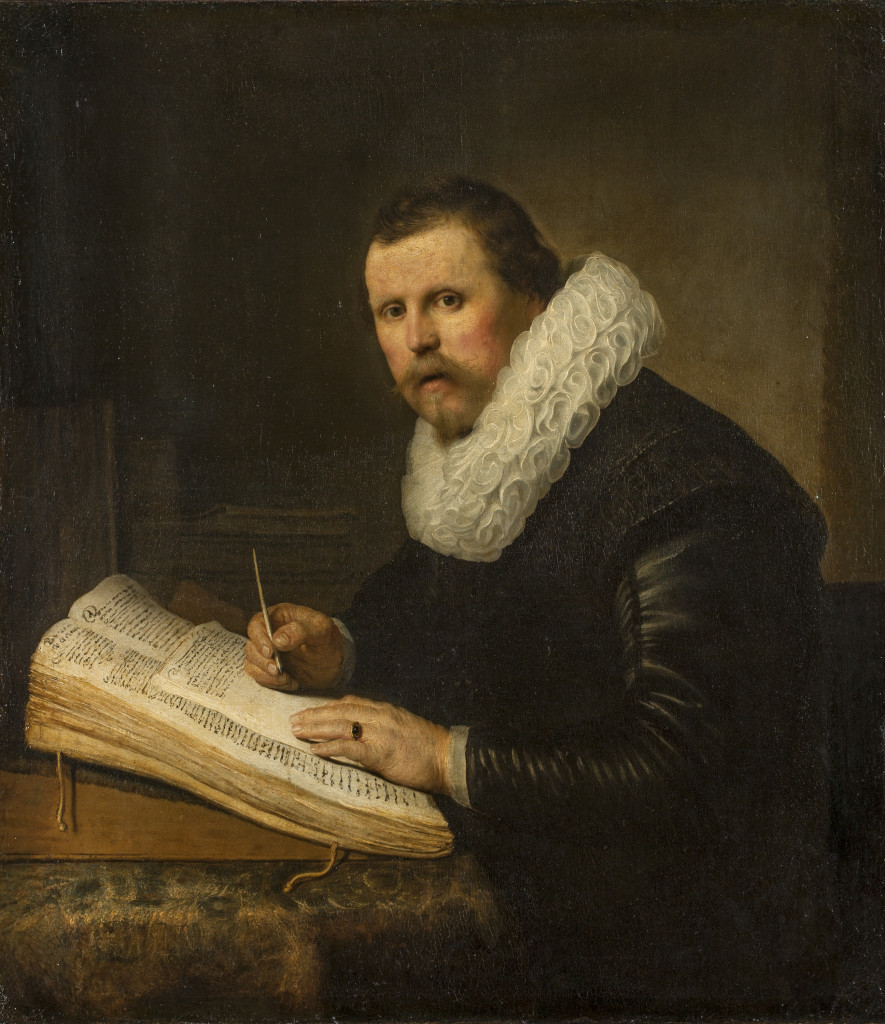 REMBRANDT Harmensz. van Rijn Dutch 1606–69 Portrait of a scholar 1631 oil on canvas 104.5 х 92.0 cm (Inv. no. ГЭ-744) The State Hermitage Museum, St Petersburg Acquired from the collection of Count Heinrich von Brühl, Dresden, 1769