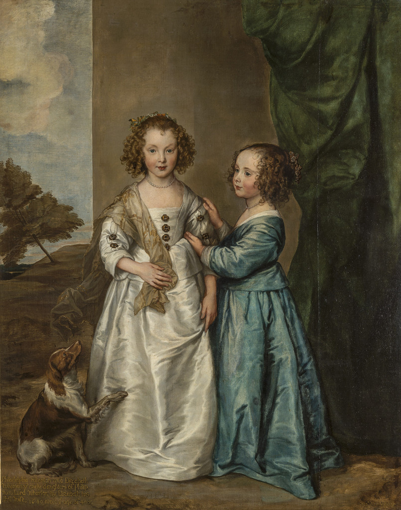 Anthony van DYCK Flemish 1599–1641 Portrait of Philadelphia and Elizabeth Wharton 1640 oil on canvas 162.0 х 130.0 cm The State Hermitage Museum, St Petersburg (Inv. no. ГЭ-533) Acquired from the collection of Sir Robert Walpole, Houghton Hall, 1779