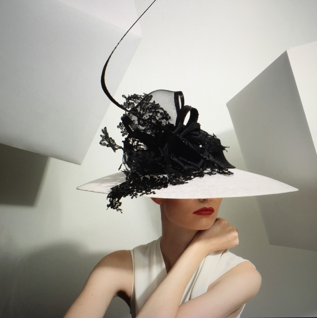 Philip Treacy SS15 Photograph of Webpage