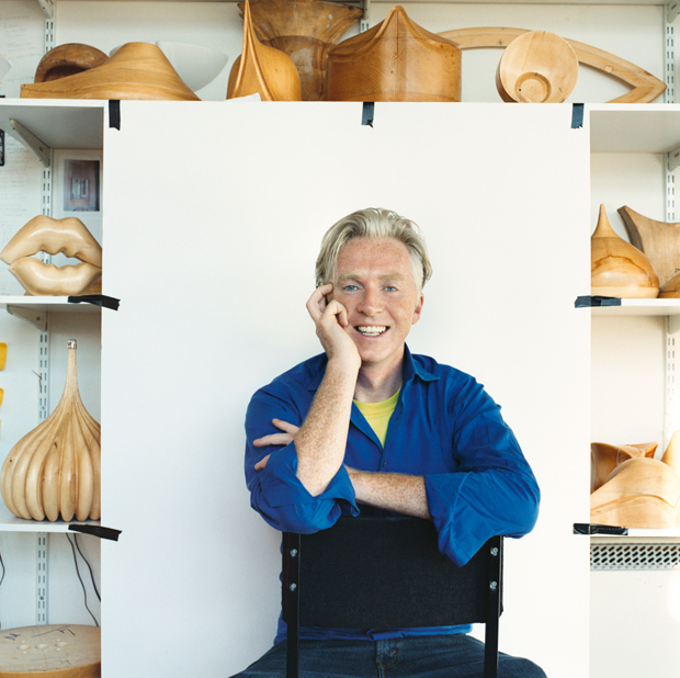Philip Treacy by Kevin Davies  Courtesy Phaidon.com
