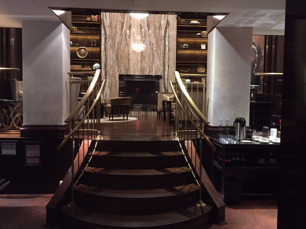 Guest reception and private lounge - The Capella, Georgetown