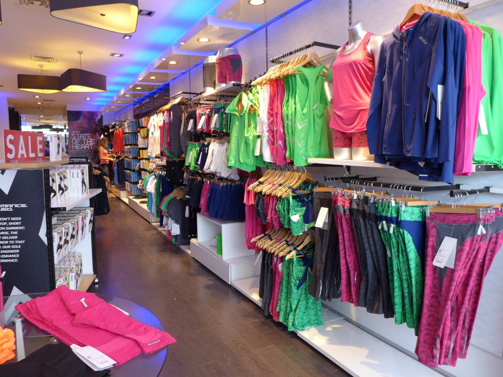 2XU store interior