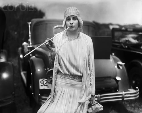 flapper with car