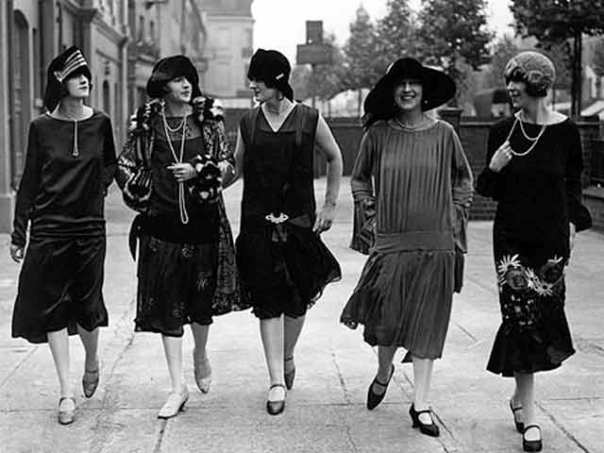 group of flappers