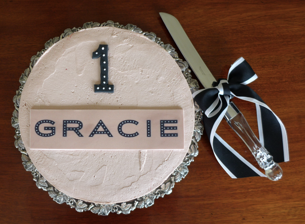 GRACIE birthday cake created by 'Burnt Butter'
