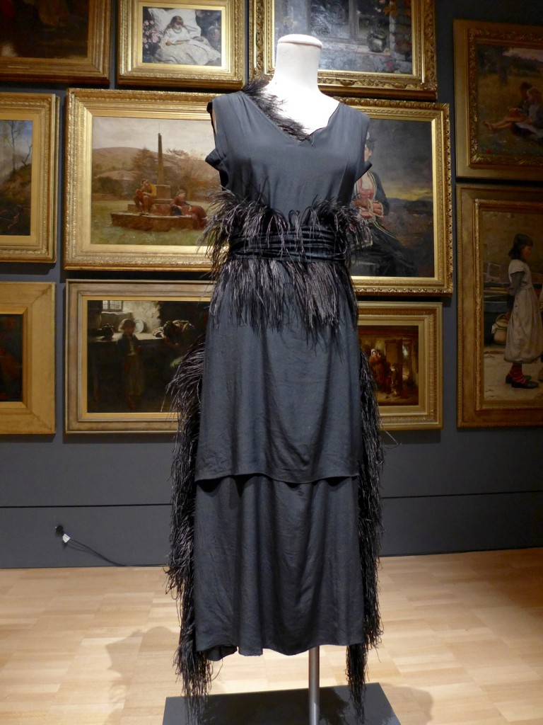 Chanel, Paris fashion house France 1914–1939 Gabrielle 'Coco' Chanel designer France 1883–1971 Dress 1919 silk (chiffon), feathers The Dominique Sirop Collection National Gallery of Victoria, Melbourne Purchased with funds donated by Mrs Krystyna Campbell-Pretty in memory of Mr Harold Campbell- Pretty, 2015