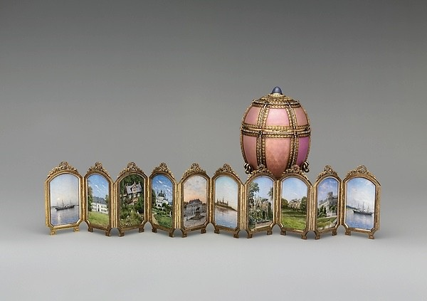 The Danish Palaces Egg   Photograph:  Courtesy The MetMuseum