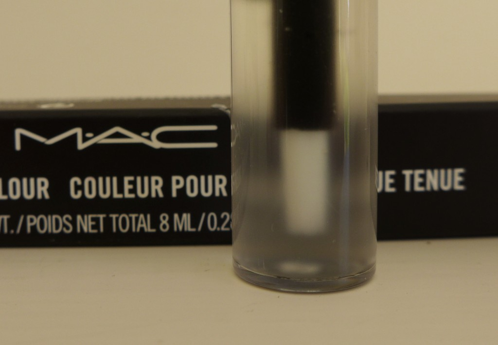 MAC ro Longera Lipcolour Gloss and Brush  Photograph:  GRACIE