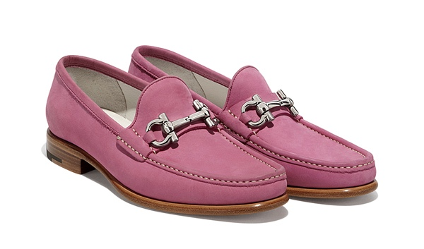Salvatore Ferragamo Mason Leather Bit Loafer