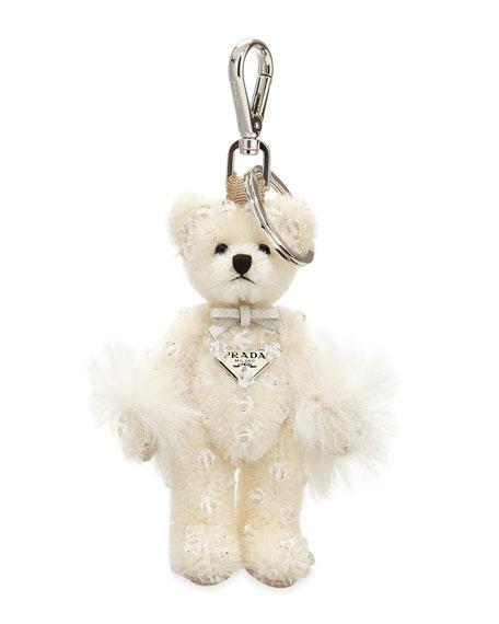 Prada Swarovski Teddy Bear Charm