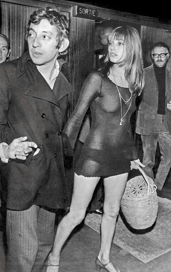 Jane Birkin and Serge Gainsbourg. Challenging convention with carefree attitude
