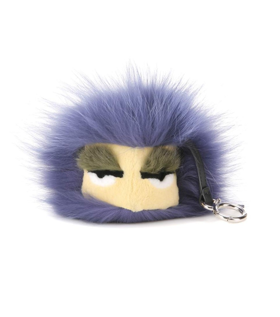 Fendi Bag Bug with mink, fox and rabbit fur