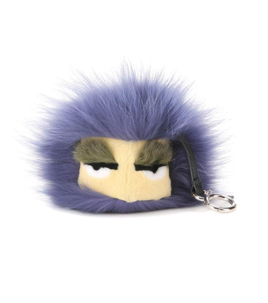 Fendi Bag Bug with mink, fox and rabbit fur