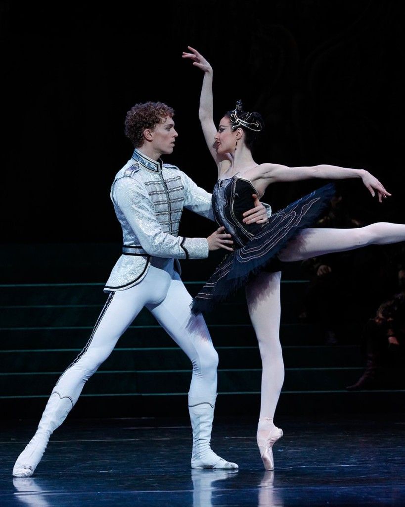 Australian Ballet:  Swan Lake:  Dancers Amber Scott and Adam Bull