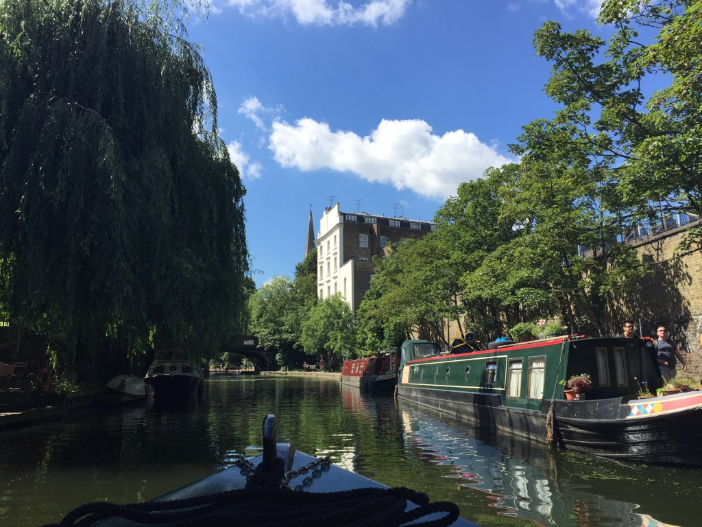 Regent's Canal  Photograph:  GRACIE