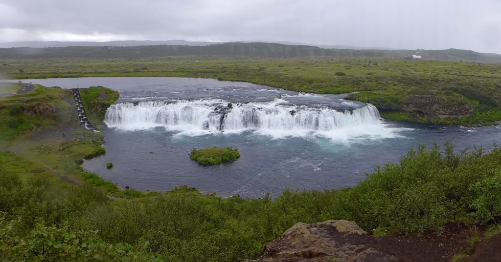 Faxi Waterfall located on the Tungufljót river  Photograph  GRACIE