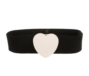 Sonia Rykiel belt with heart feature