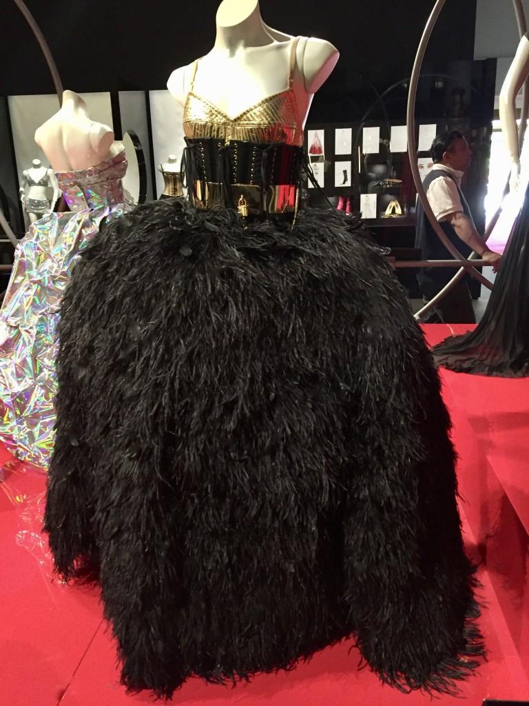 Kylie Aphrodite Les Folies Tour 2011  Costume designed by Dolce & Gabbana   Photograph:  GRACIE