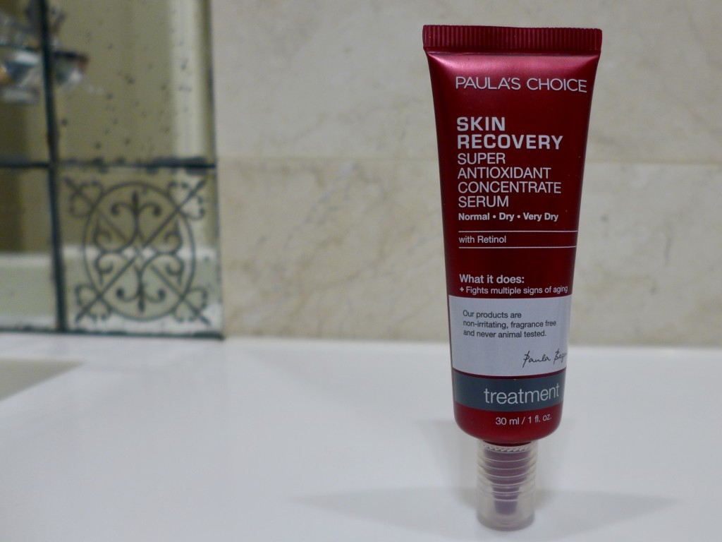 Paula's Choice Skin Recovery Super Antioxidant Concentrate Serum  Photograph:  GRACIE
