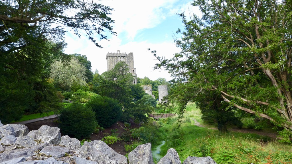 Parklands surrounding Blarney Castle  Photograph:  GRACIE