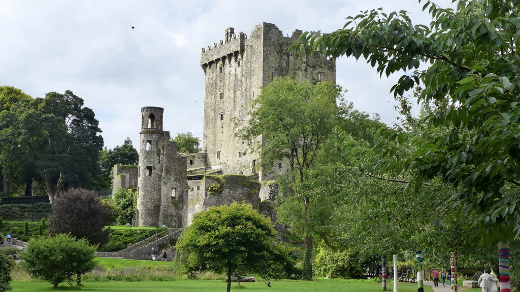 Blarney Castle, Ireland  Photograph:  GRACIE