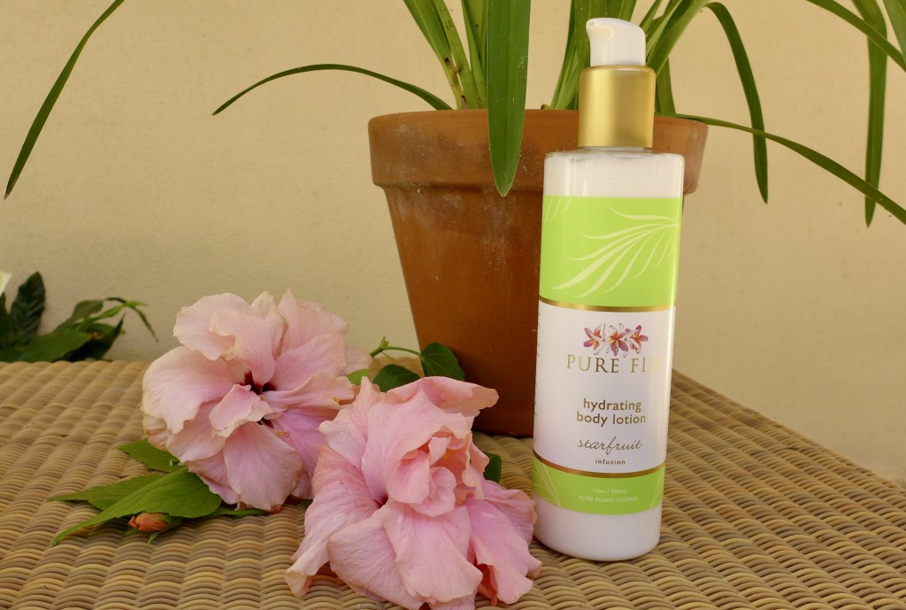 Pure Fiji Hydrating Body Lotion 'Starfruit Infusion'  Photograph:  GRACIE