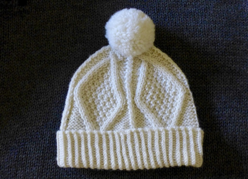 Aran knit beanie purchased from Blarney Woollen Mills Photograph:  GRACIE