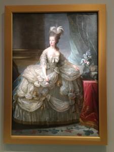 Marie-Antoinett de Lorraine-Habsbourg by Elisabeth Louise Vigee Le Brun  Photograph:  GRACIE