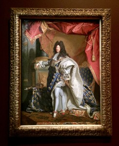 Louis XIV by Hyacinthe Rigaud  Photograph GRACIE