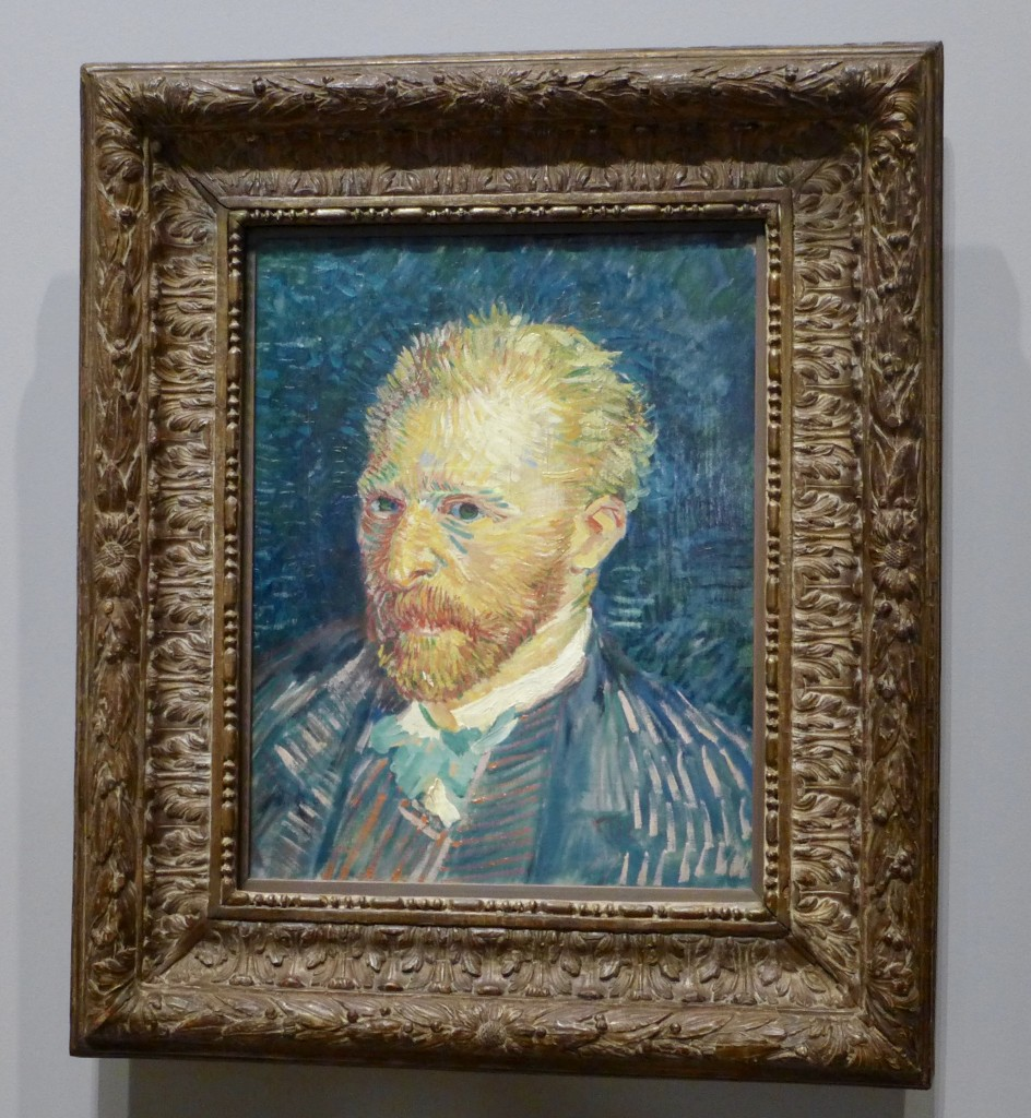 Vincent van Gogh Dutch 1853–90 Self-portrait autumn 1887 Paris oil on canvas 44.1 x 35.1 cm F 320, JH 1334 Musée d'Orsay, Paris Donation Jacques Laroche with life interest, 1947 © Musée d'Orsay, Dist. RMN-Grand Palais / Patrice Schmidt