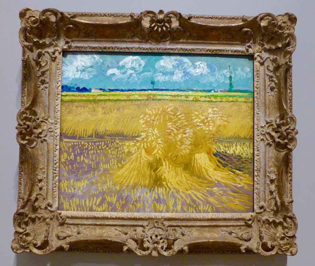 Vincent van Gogh Dutch 1853–90 Wheatfield 1888 Arles oil on canvas 55.2 x 66.7 cm Honolulu Museum of Art, Hawaii Gift of Mrs Richard A. Cooke and family in memory of Richard A. Cooke, 1946 (377.1)  Photograph:  GRACIE