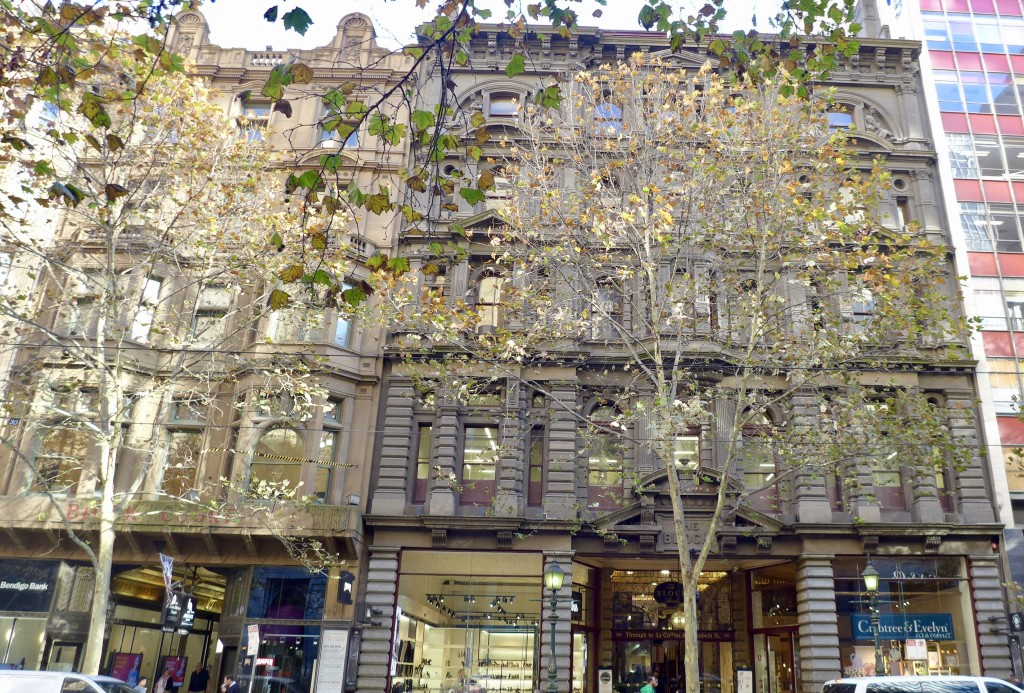 The Block Arcade entrance from Collins Street, Melbourne  Photograph:  GRACIE