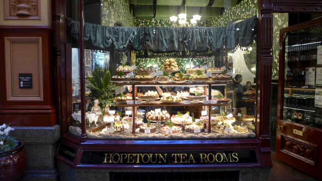The iconic Hopetoun Tea Rooms - an all time favourite  Photograph:  GRACIE