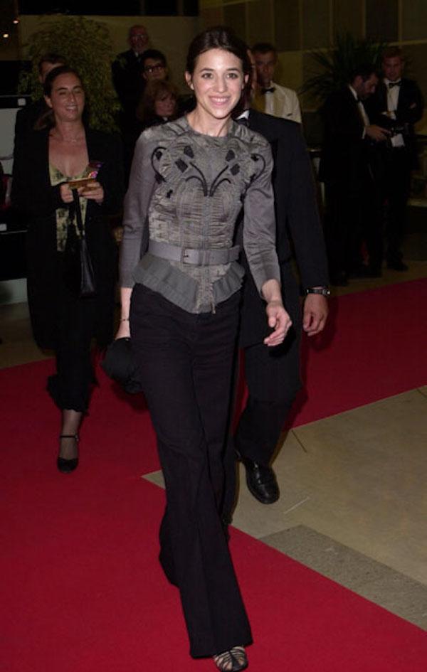 Charlotte Gainsbourg in Balenciaga