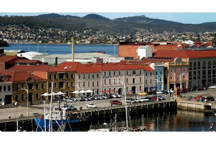 Henry Jones Art Hotel Hobart Waterfront  Photograph:  Google