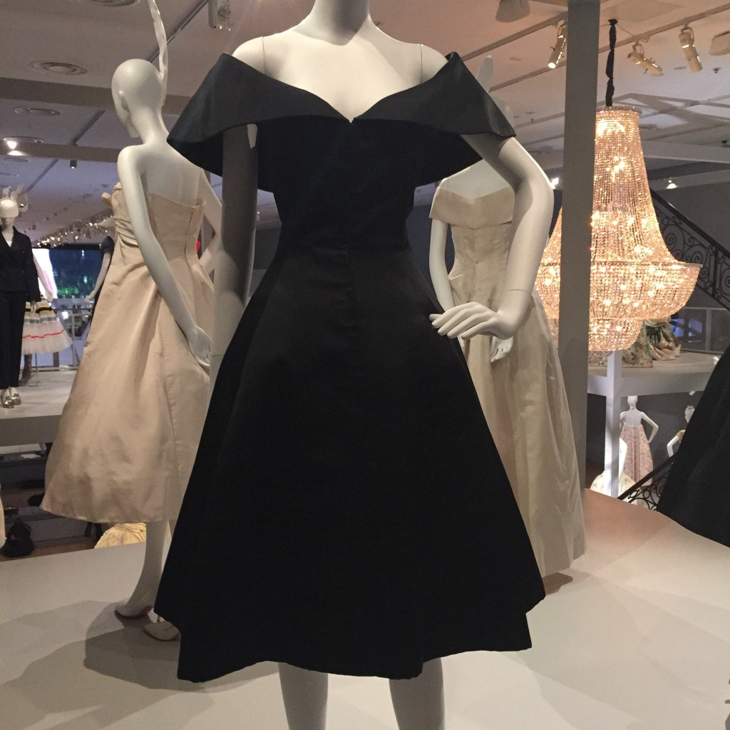 Christian Dior:  Promise reception dress  Slender Line Autumn/Winter 1957/58  Silk