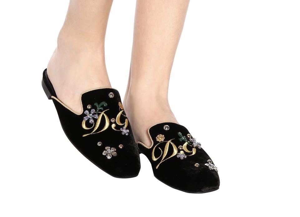 Dolce & Gabbana opulent slipper