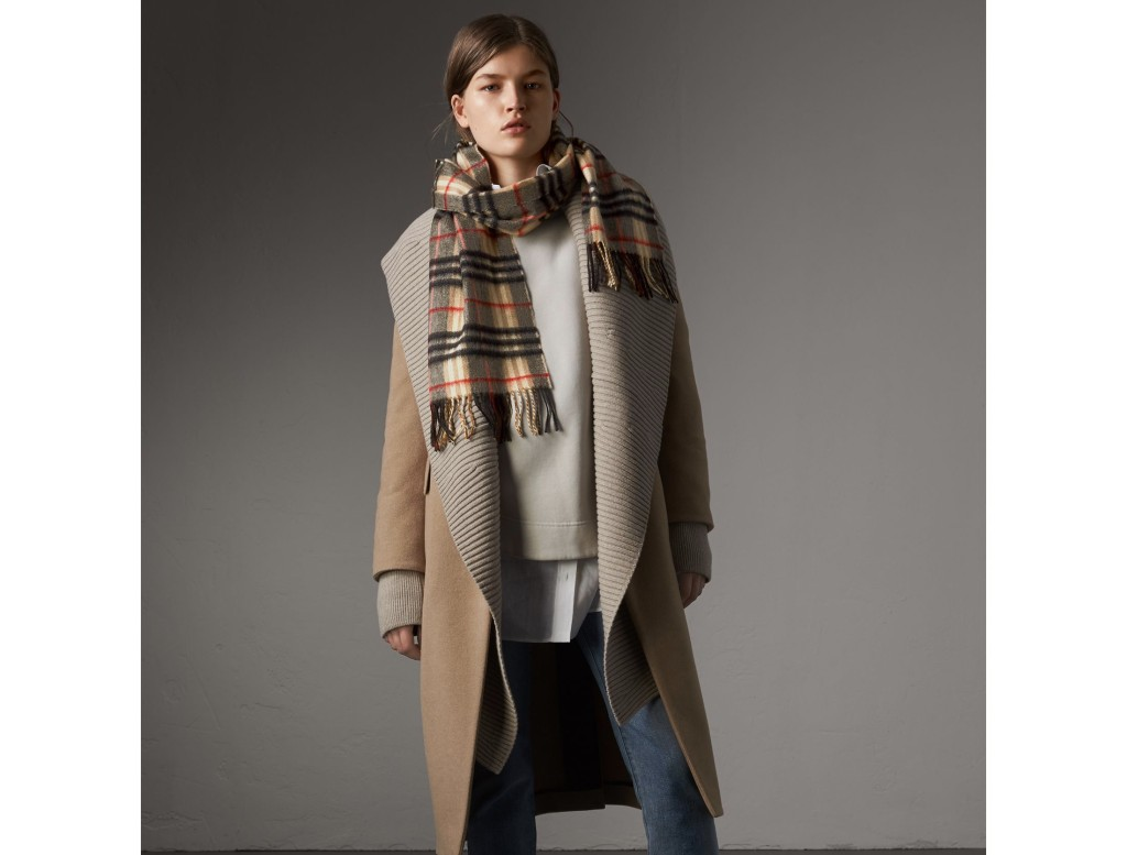 Burberry Classic Scarf  Photograph:  Burberry