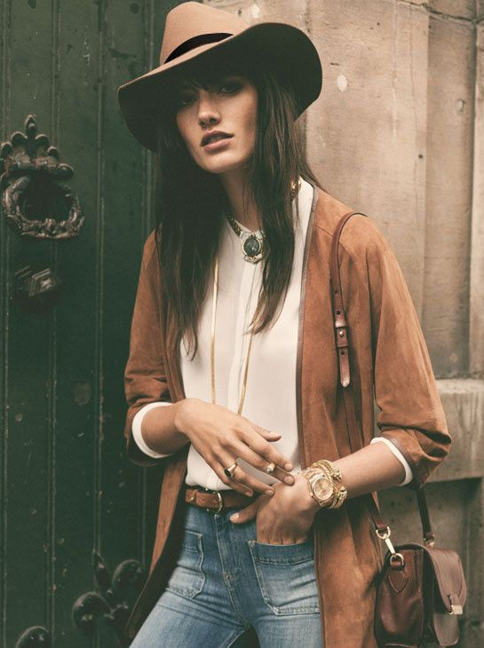 Western cow girl meets gipsy boho  Photo Source:  Pintinterest