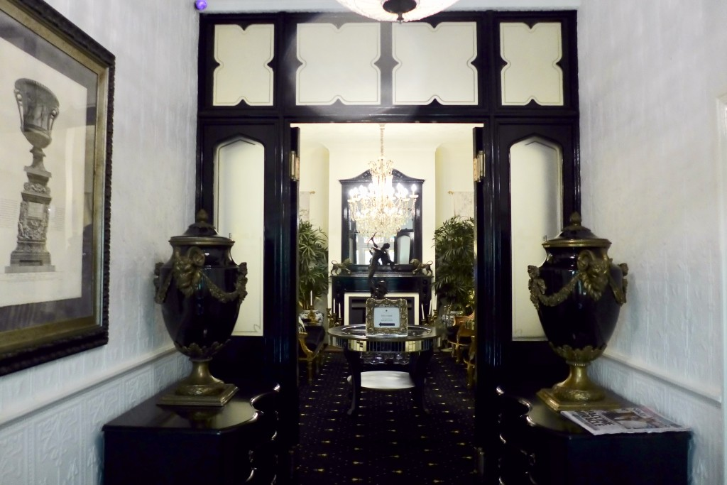 The Convent entrance hall  Photograph GRACIE
