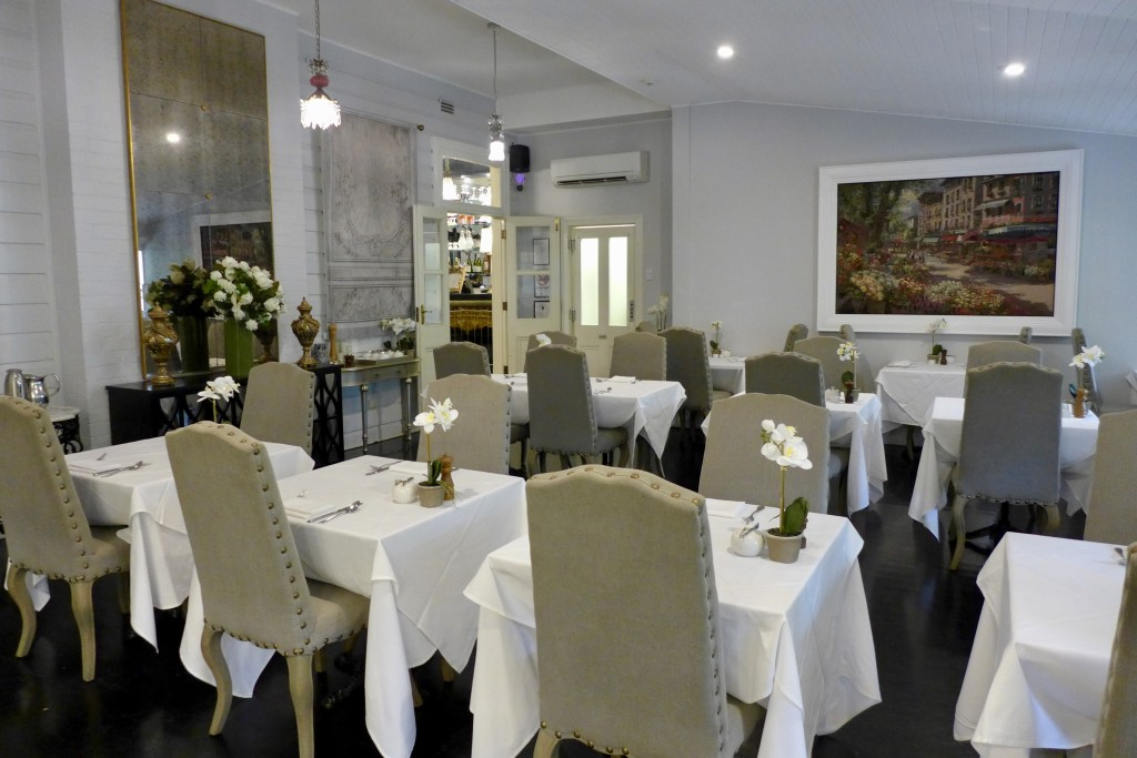 The Convent  'Eighty Eight' Restaurant  Photograph:  GRACIE